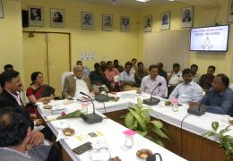 Visit of Union Minister for State Shri Parshottam Khodabhai Rupalaji to ICAR-NBAIR